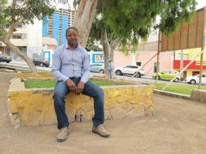 Y AHORA, QUÉ. Eric extraña Bamenda, su ciudad natal en el lejano país africano de Camerún.