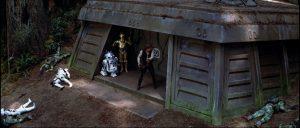 EL BÚNKER DE ENDOR. Salai, jedi experto, nos menciona que el edificio de Entel podría parecerse al búnker del Episodio VI. Ojo, dijo podría.